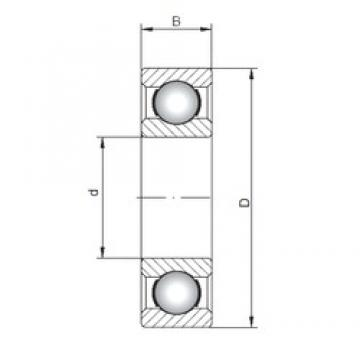 ISO 6238 deep groove ball bearings