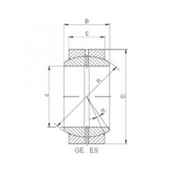 ISO GE180DO plain bearings