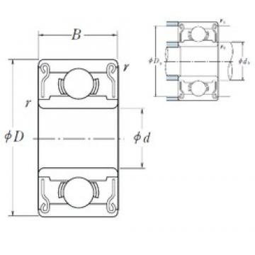 ISO MR104ZZ deep groove ball bearings