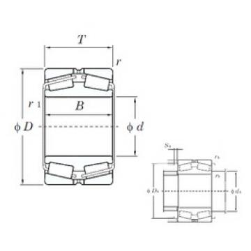 KOYO 45224 tapered roller bearings